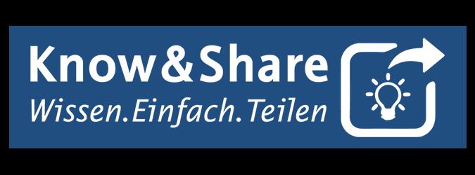 Know&Share-Wissen einfach teilen-Logo